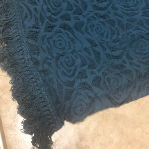 Accessories - Collection Eighteen Turquoise Infinity Poly Scarf